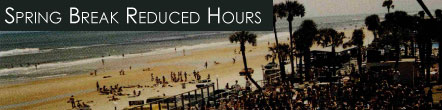 Reduced Spring Break Hours