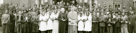 Picture of 1936 Confirmation Ceremony in Wilmington, Delaware