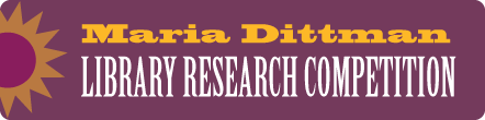 Dittman Library Research Competition
