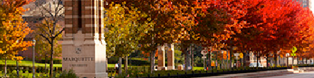 Image of Wisconsin Ave. and fall foliage