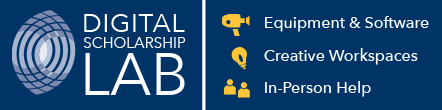 Digital Scholarship Lab banner