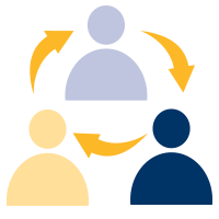 engagement and collaboration icon