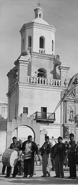 San Xavier del Bac Mission, near Tuscon, Arizona
