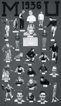 1936 Marquette Golden Avalanche football team