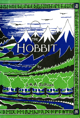 Dustjacket  		  for The Hobbit