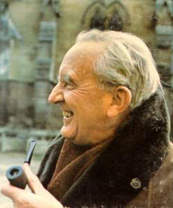 Portrait of J. R. R. Tolkien