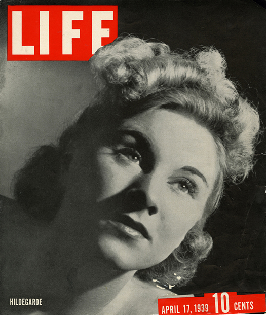 Cover illustration from LIFE Magazine April 1939
