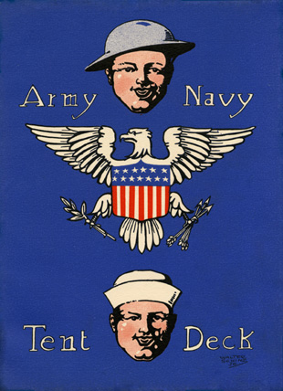 1918 Hilltop Army Navy Plate