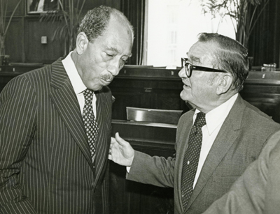 Zablocki  		   and Sadat photo