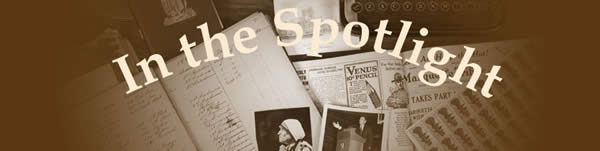 In the Spotlight header