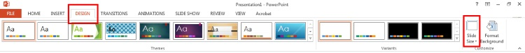 Microsoft PowerPoint-toolbar