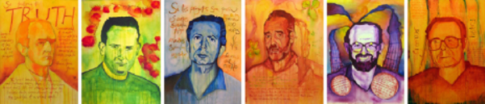 Slain Jesuit portraits painted by Mary Pimmel-Freeman