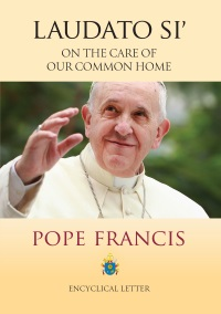 Book cover illustration from Laudato Si