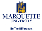 Marquette University Logo-Be the Difference