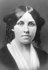 Louisa May Alcott  	  midtwenties
