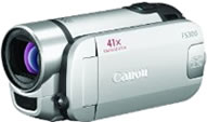graphic showing the canonFS 300 video camera