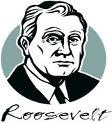 graphic of Franklin D. Roosevelt