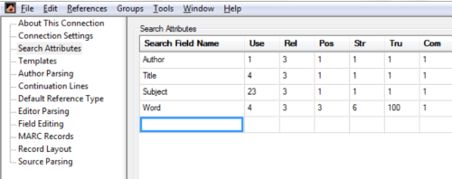 graphic showing search attributes