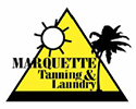 Marquette Tanning and Laundry logo