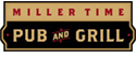 Miller Time Pub and Grill logo