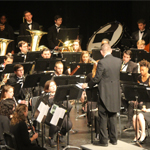 Symphonic band performance