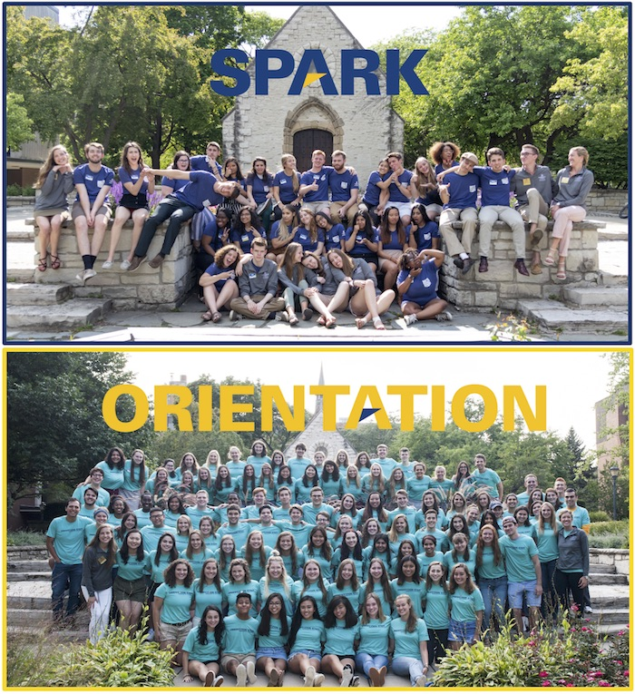 SPARK and Orientation Leaders 2018