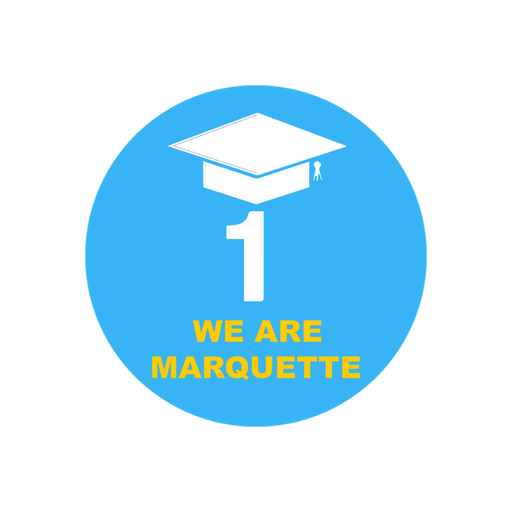 We are Marquette First Gen Button