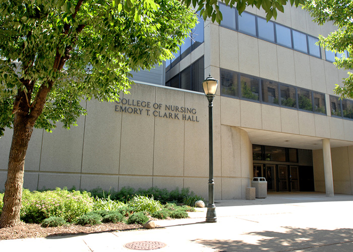 Emory T. Clark Hall, home of Marquette University's College of Nursing