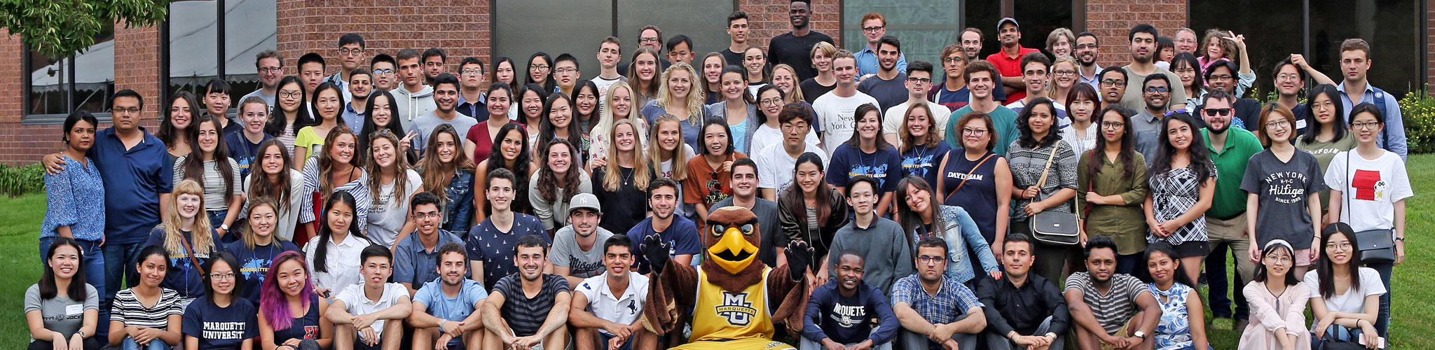 International students at Marquette