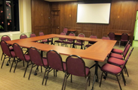 Conference Style Seating Configuration