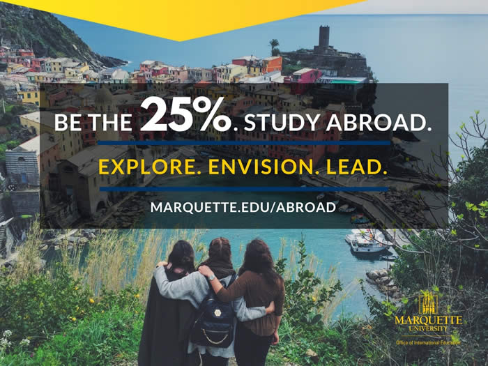 Image of students studying abroad