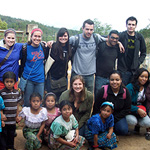 group of students in Guatemala