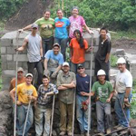 Group of Engineers Without Borders Students in Guatemala