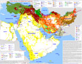 Map of the Mideast