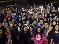 Group photo of students who attended the Mid-Autumn Festival