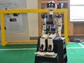 MU Robot that competed in Robocup