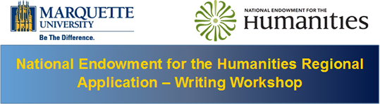 National Endowment for the Humanities Regional Application - Writing Workshop
