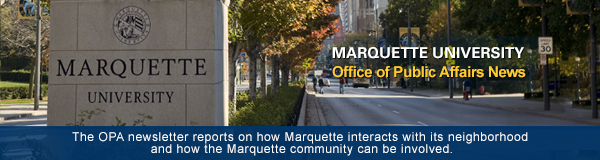 Marquette University's Office of Public Affairs Newsletter
