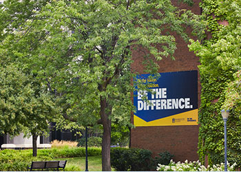 "Campus Banner ""Be The Difference"""
