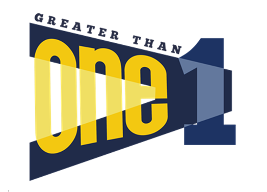 Greater Than 1 logo