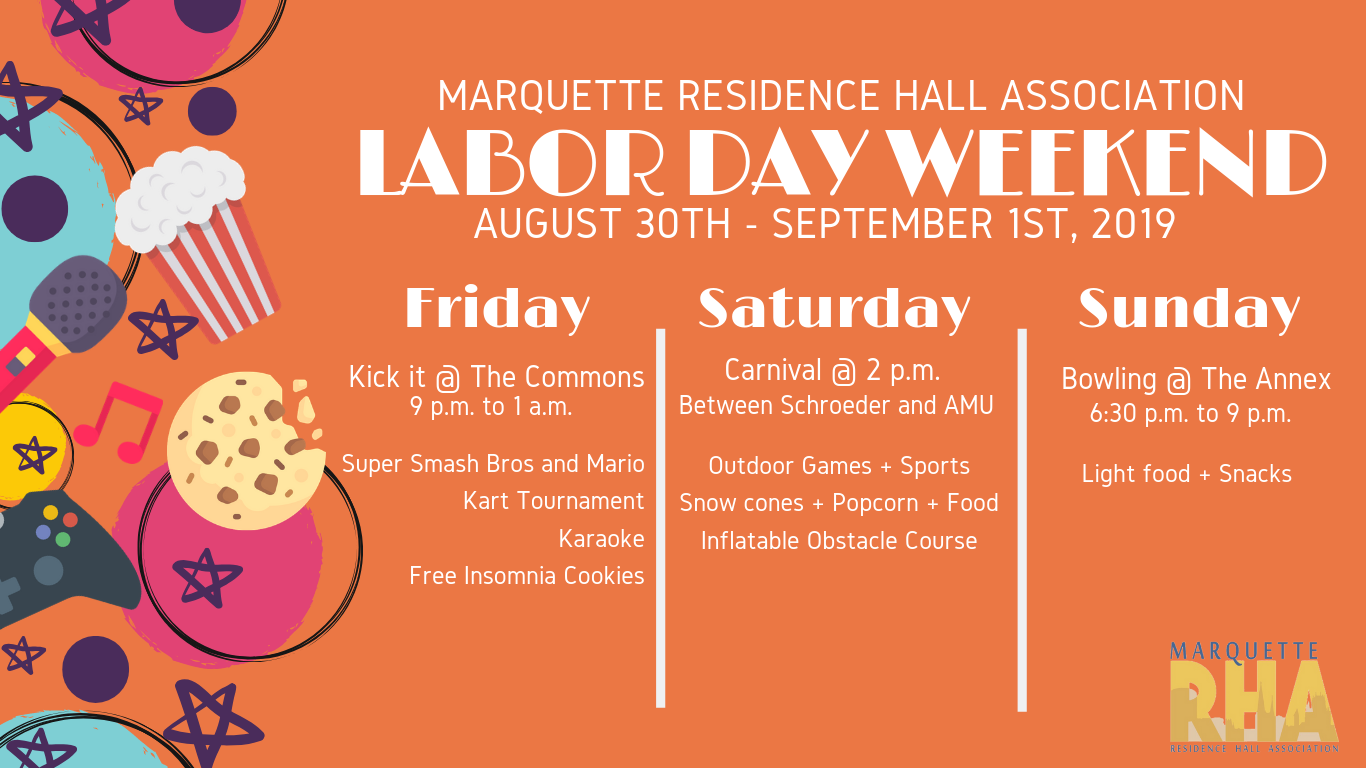 labor day weekend programs
