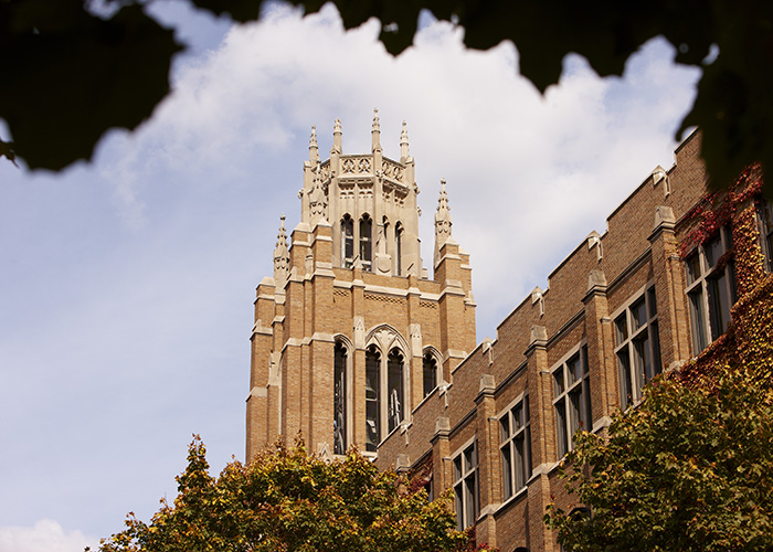 Marquette Hall on the Marquette University campus