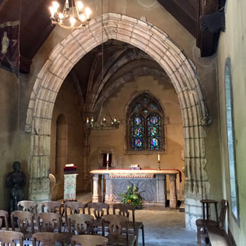 Interior of St. Joan of Arc Chapel
