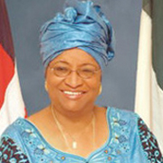 Her Excellency Ellen Johnson Sirleaf, President of the Republic of Liberia